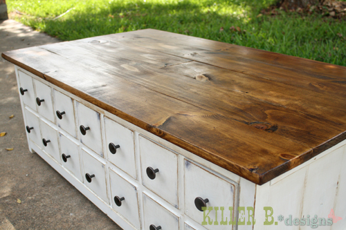 Coffee Stained Antique White Ana White Woodworking Projects