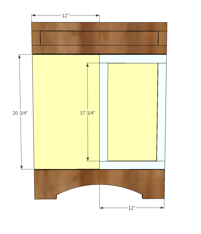 Ana white builder grade vanity diy projects for Bathroom project plan