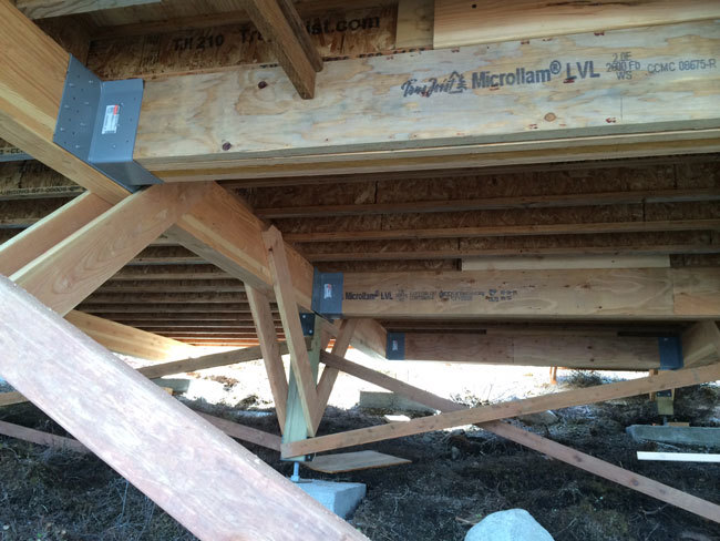 Foundation Beef Up For Timberframe Ana White Woodworking