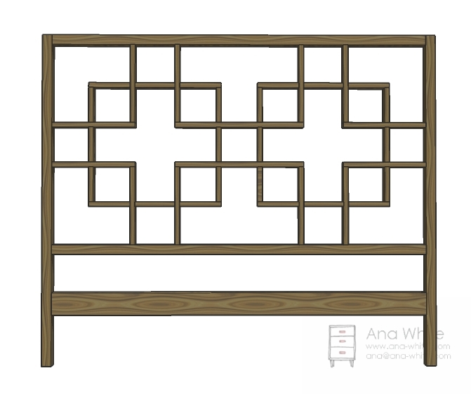 Download free queen headboard plans plans free for Free headboard plans