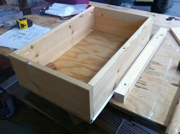 how to make wood drawers slide better