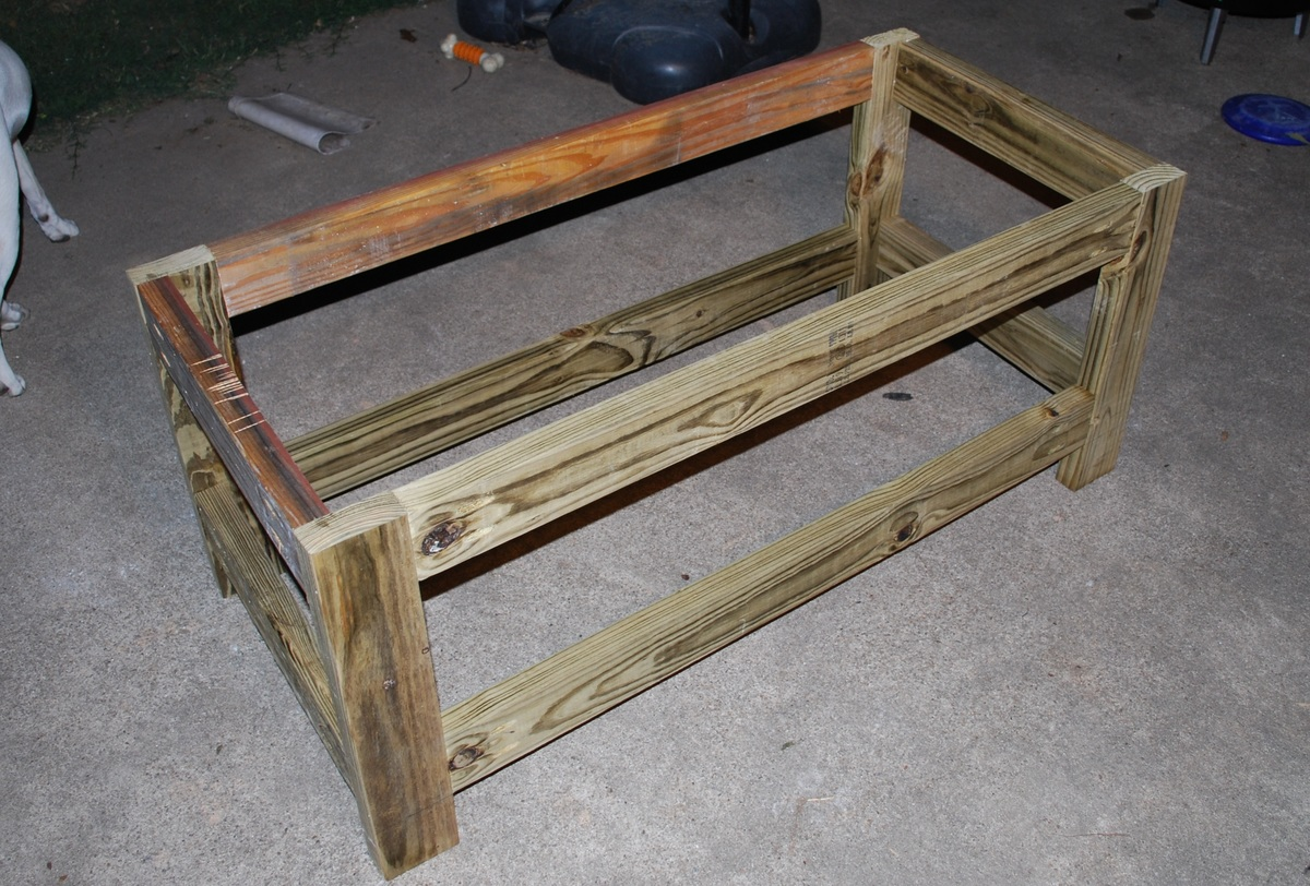 Ana White | Beefed Up - Outdoor Storage Bench - DIY Projects