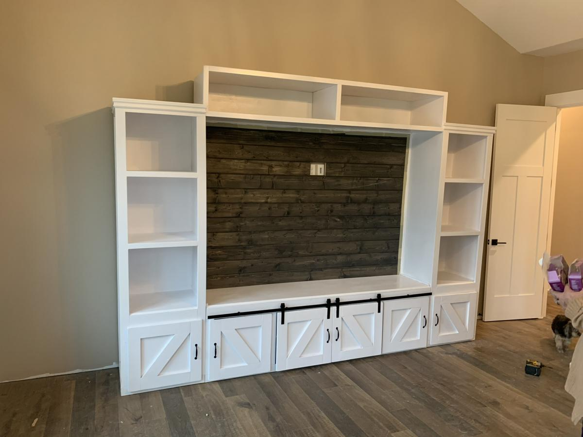 Entertainment Center Ana White