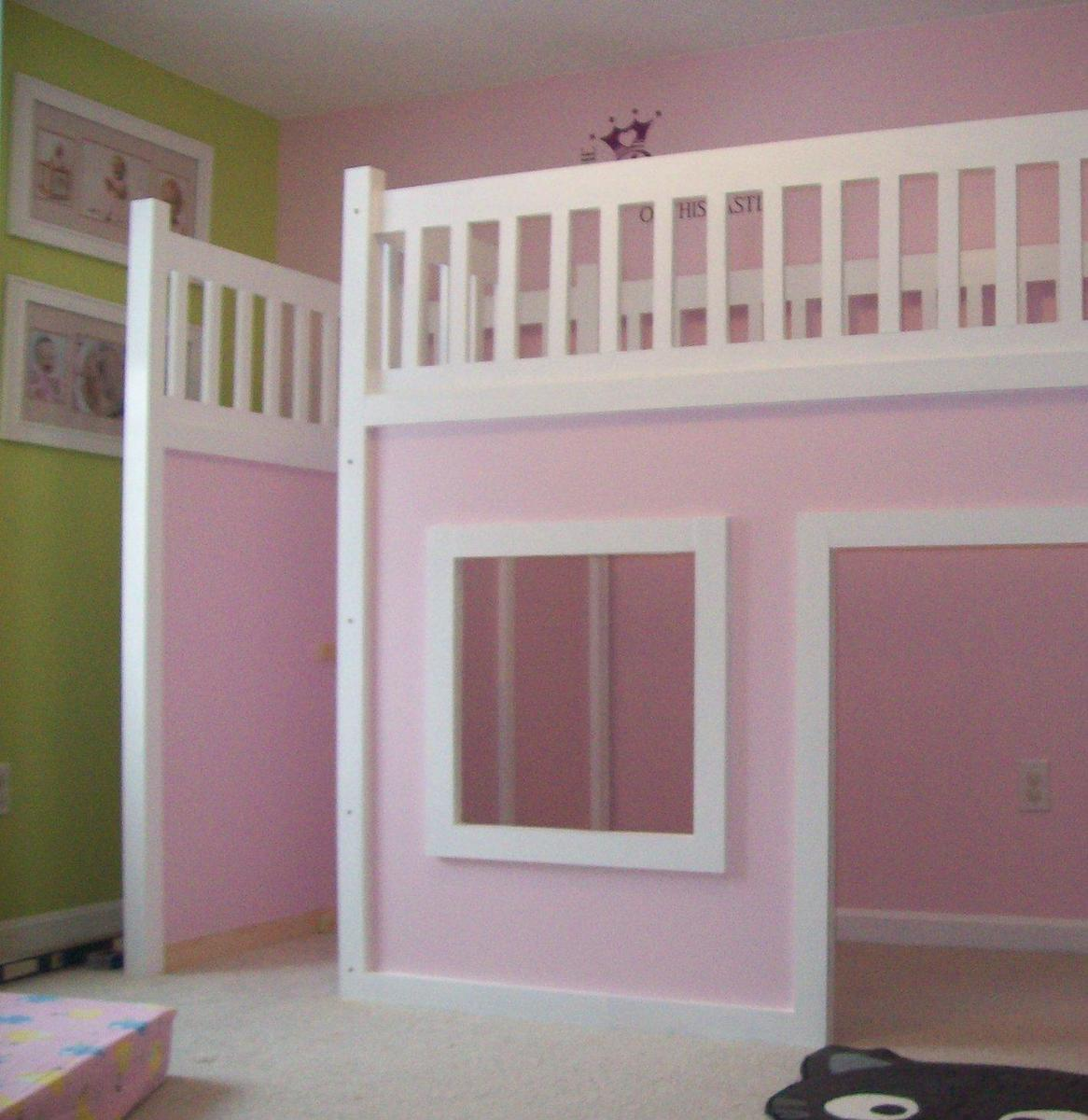 Ana White | Storage Stairs for the Playhouse Loft Bed - DIY Projects
