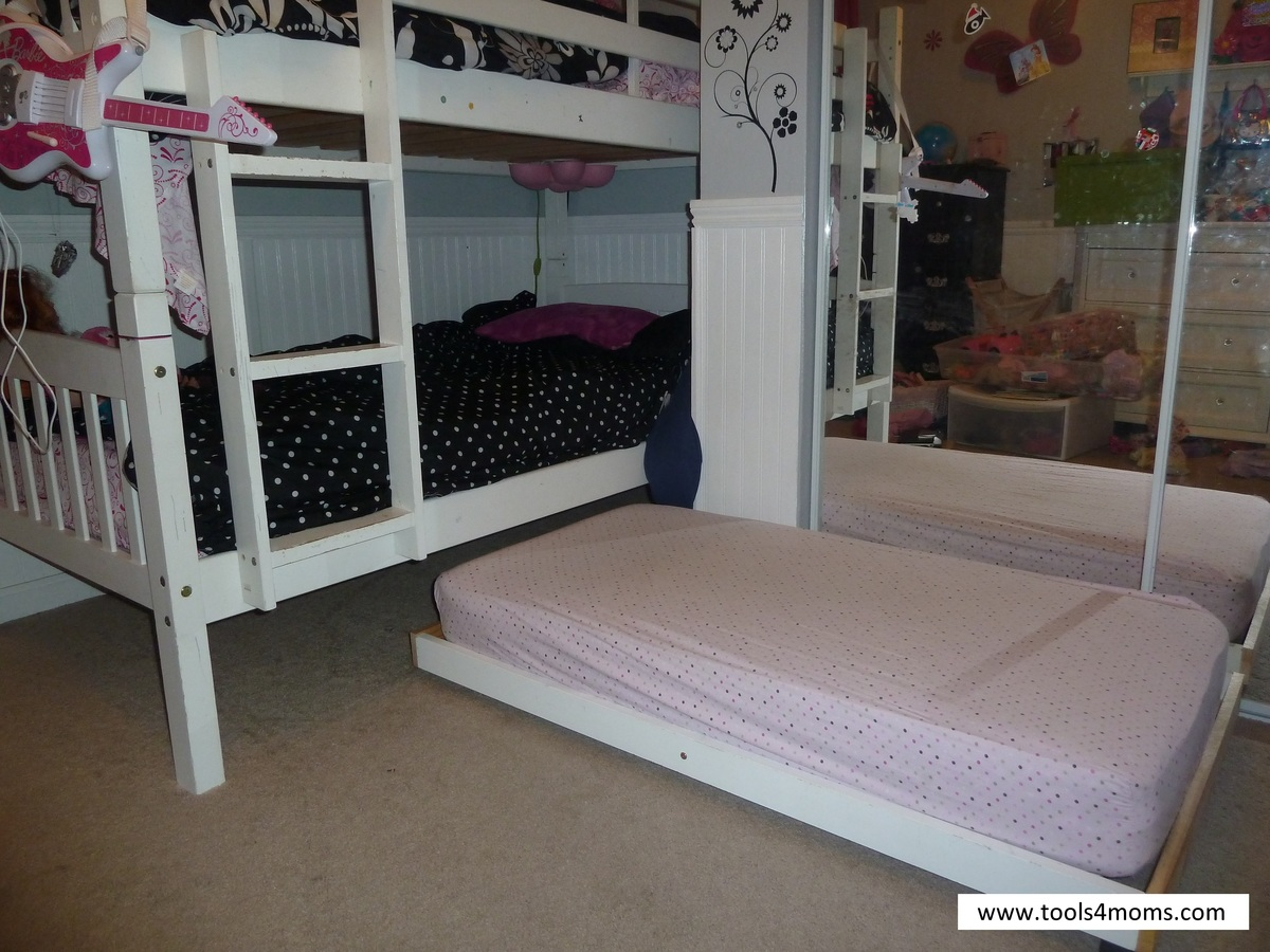 Toddler Trundle Bed Ana White