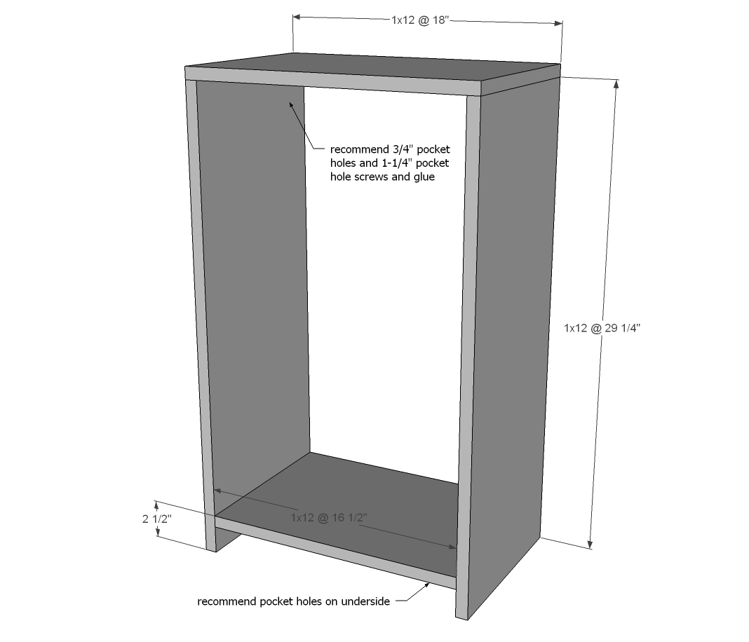 Wood Tilt Out Trash Or Recycling, Double Tilt Out Trash Bin Cabinet With Drawer Plans