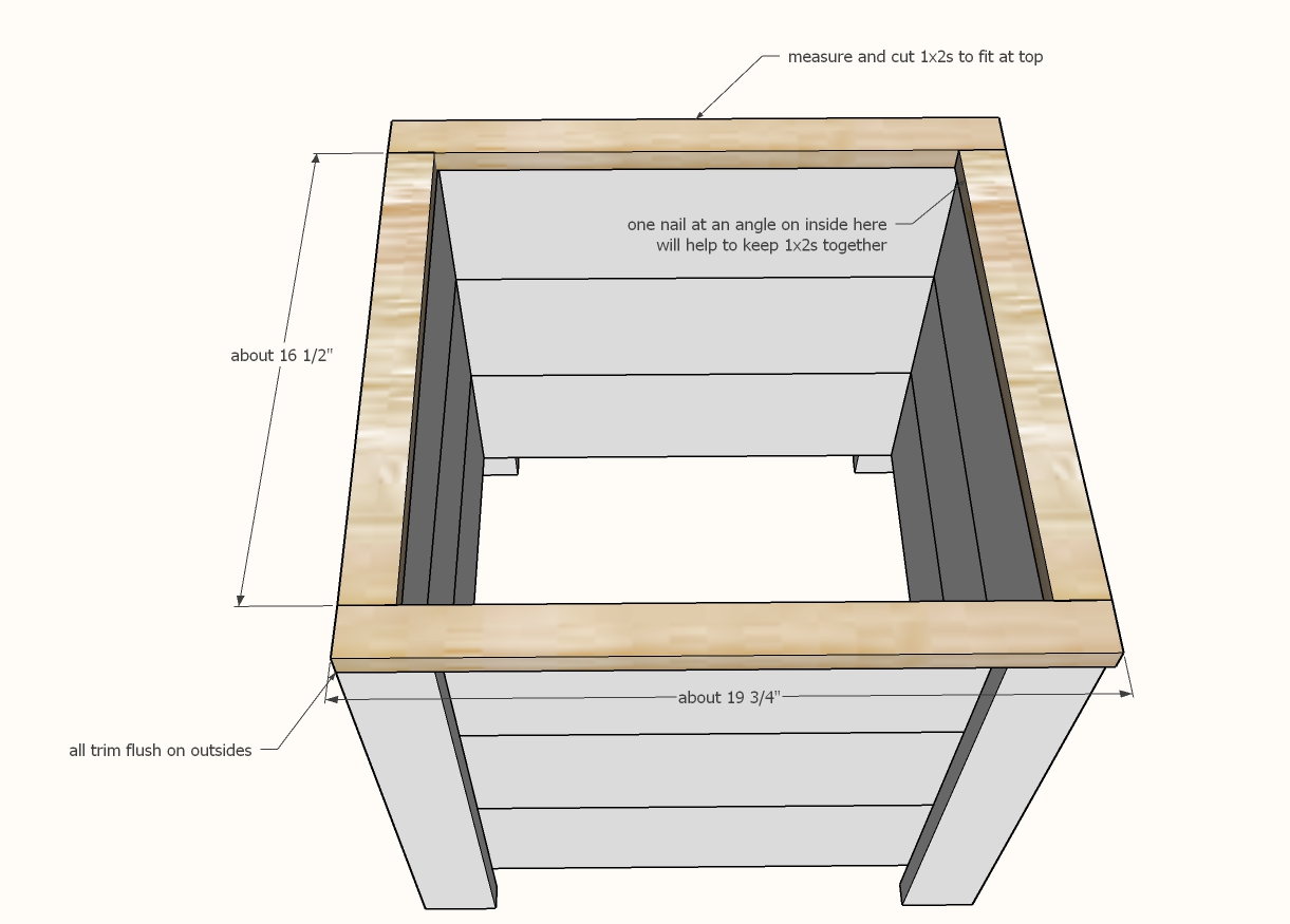 diy planter box step 5