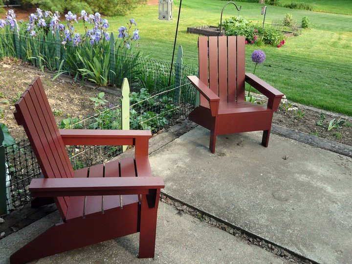 adirondack chair plans step by step