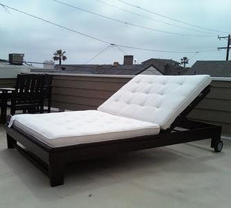 Pdf diy building plans double chaise lounge download for Building a chaise lounge