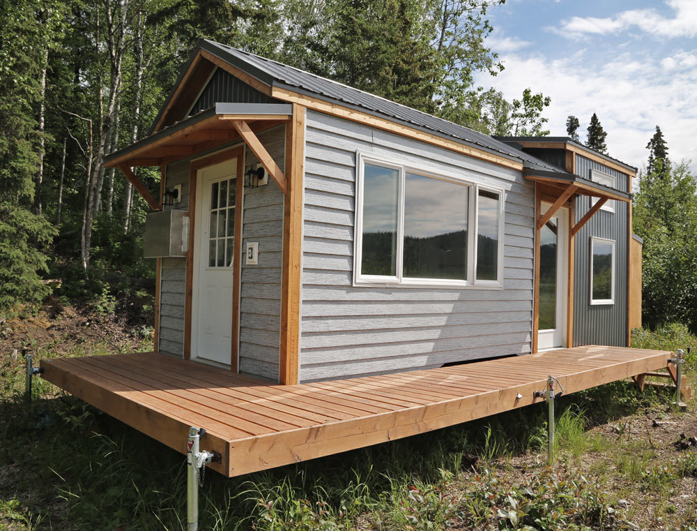 tiny house deck