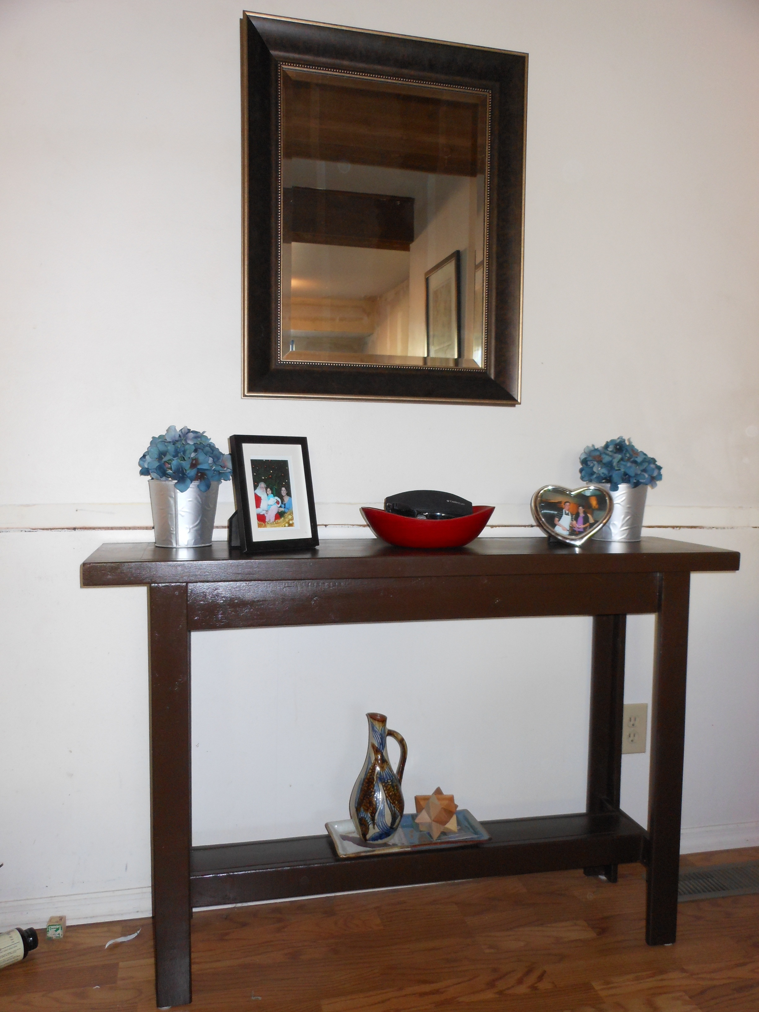 Ana White Simple And Easy Console Table Diy Projects