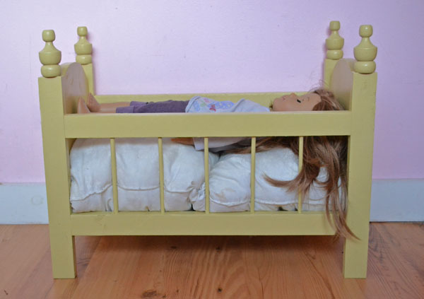 Ana White | Fancy Baby Doll Crib - DIY Projects