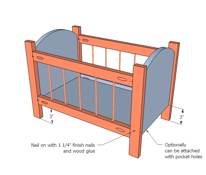 free woodworking plans for baby crib | Easy Woodworking Ideas