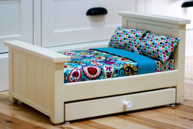 Ana White Farmhouse Doll Beds Diy Projects