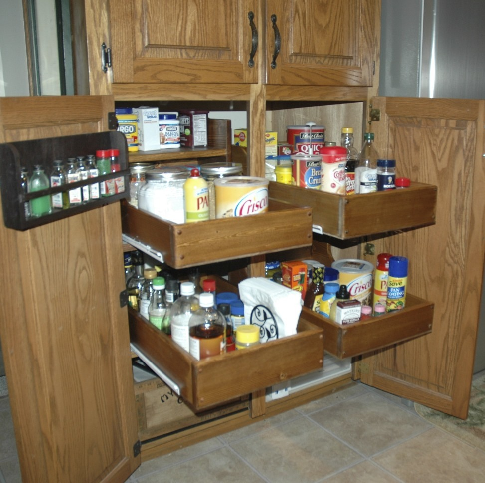 Ana White | Pull-out Cabinet Drawers - DIY Projects