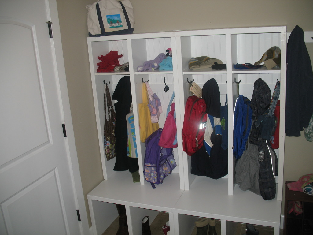 Lockers for Mudroom | Do It Yourself Home Projects from Ana White