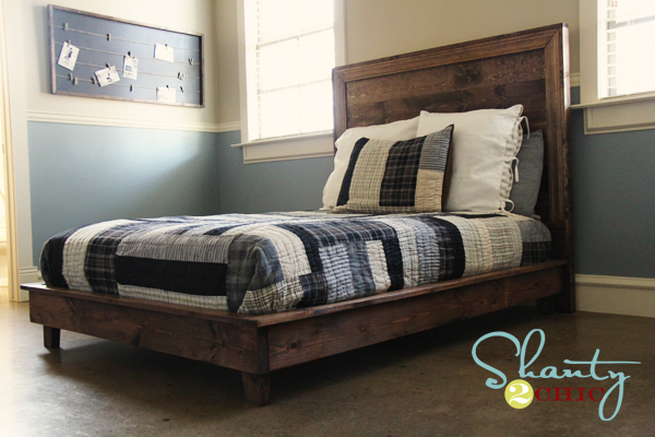 Ana White | Build a Hailey Platform Bed | Free and Easy DIY Project ...