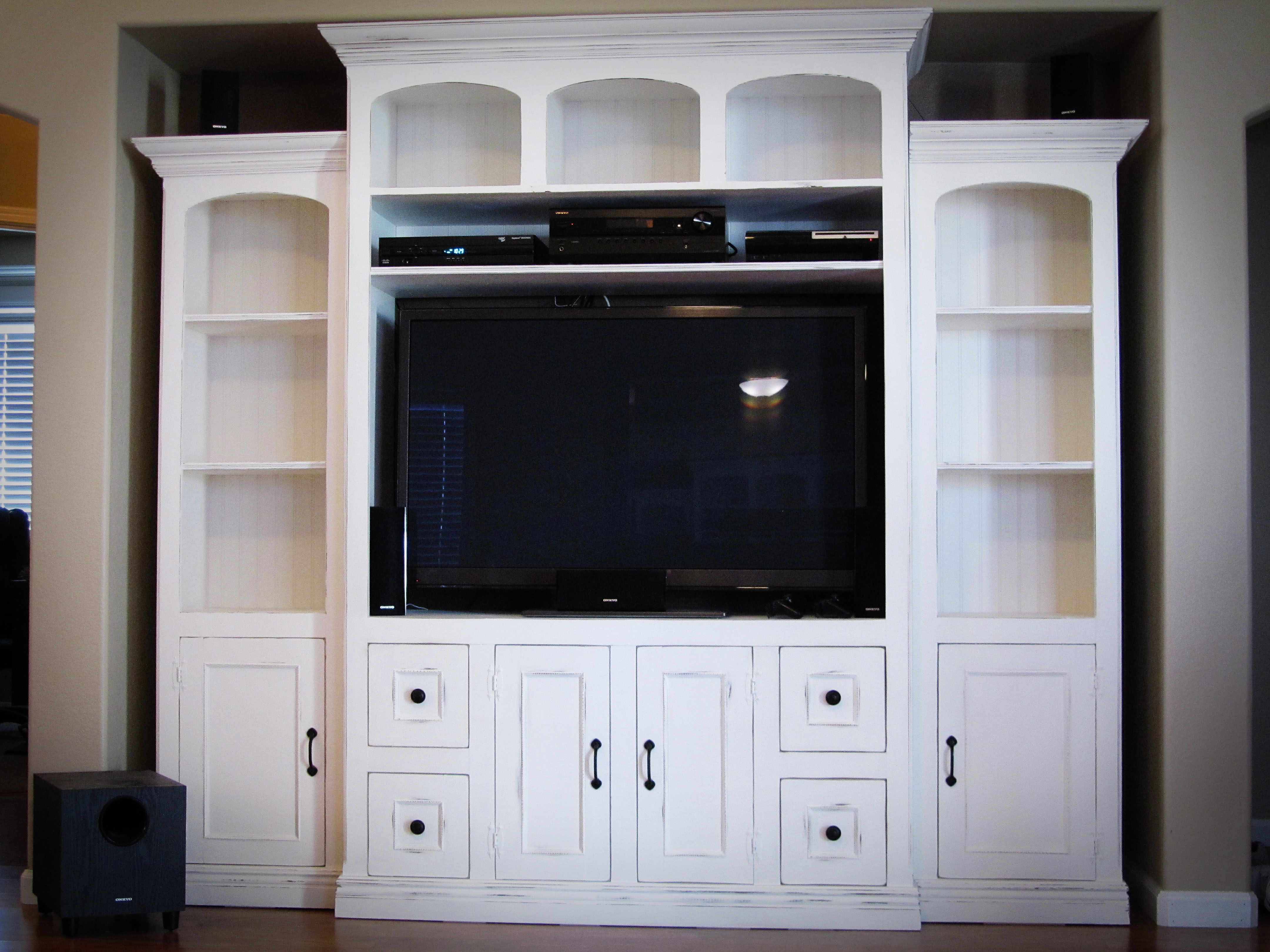 Ana White Entertainment Center Diy Projects