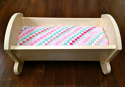 Wooden Toy Cradle Plans
