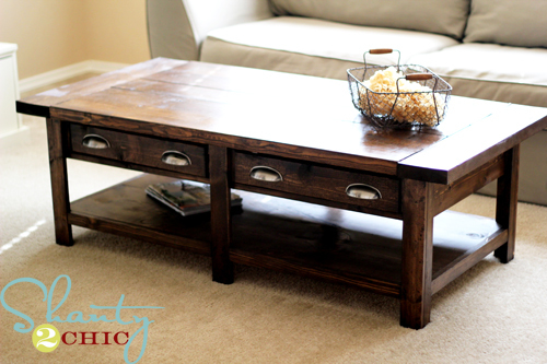 woodwork build your own coffee table plans plans pdf