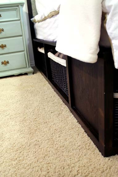 King Size Pottery Barn Stratton Bed Ana White