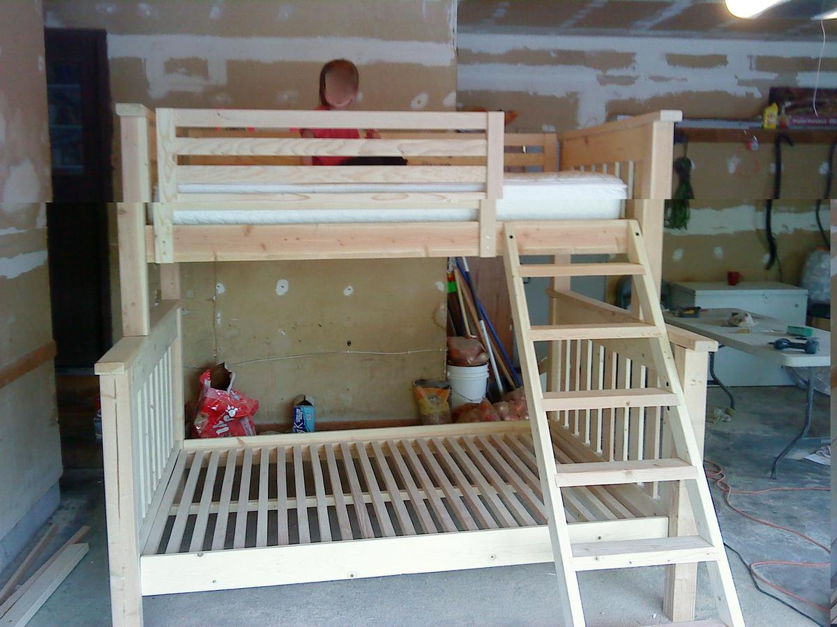 Ana White | twin over full bunkbed - DIY Projects