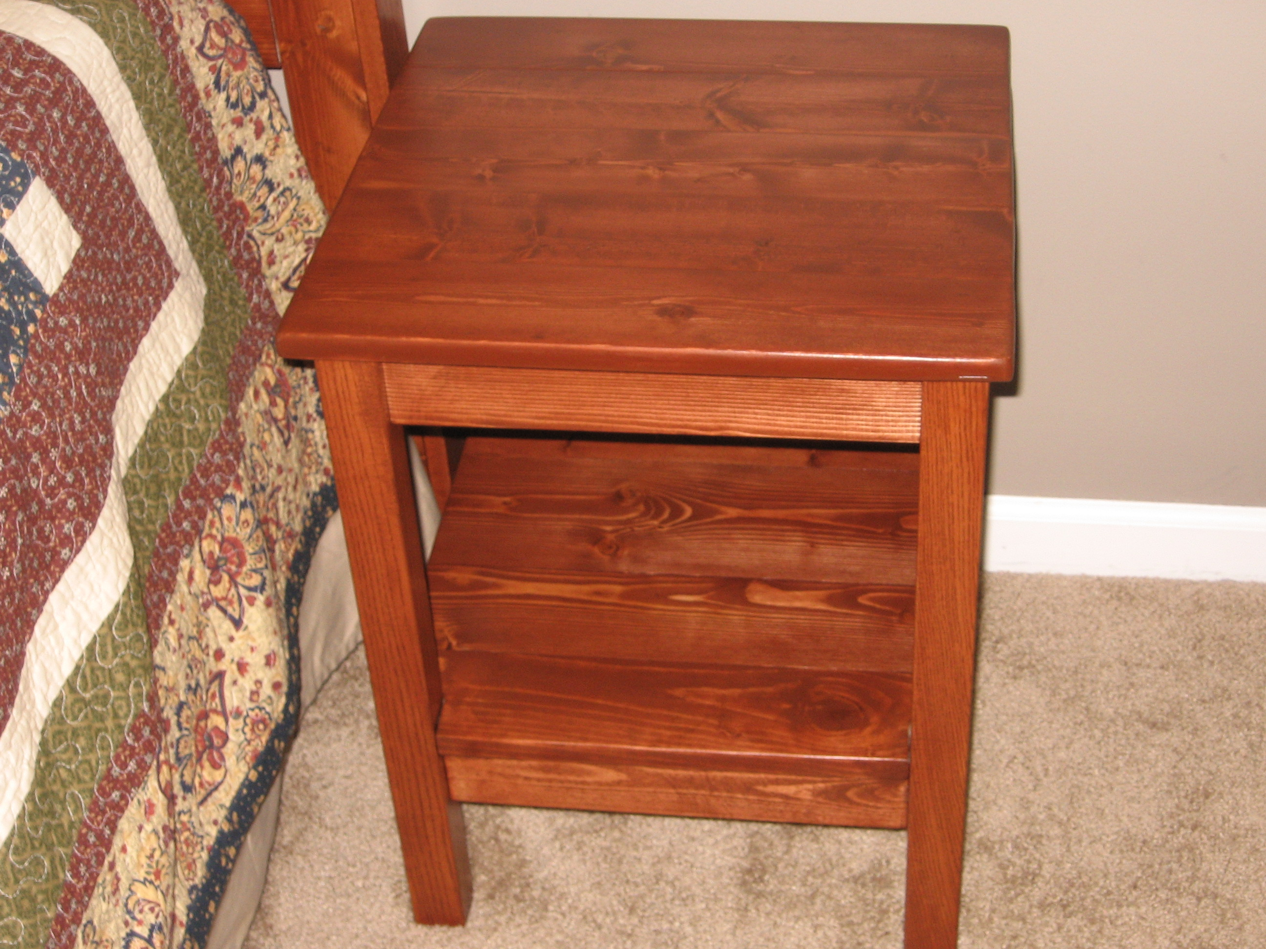 Plans to build simple bedside table plans pdf plans Simple bedside table designs
