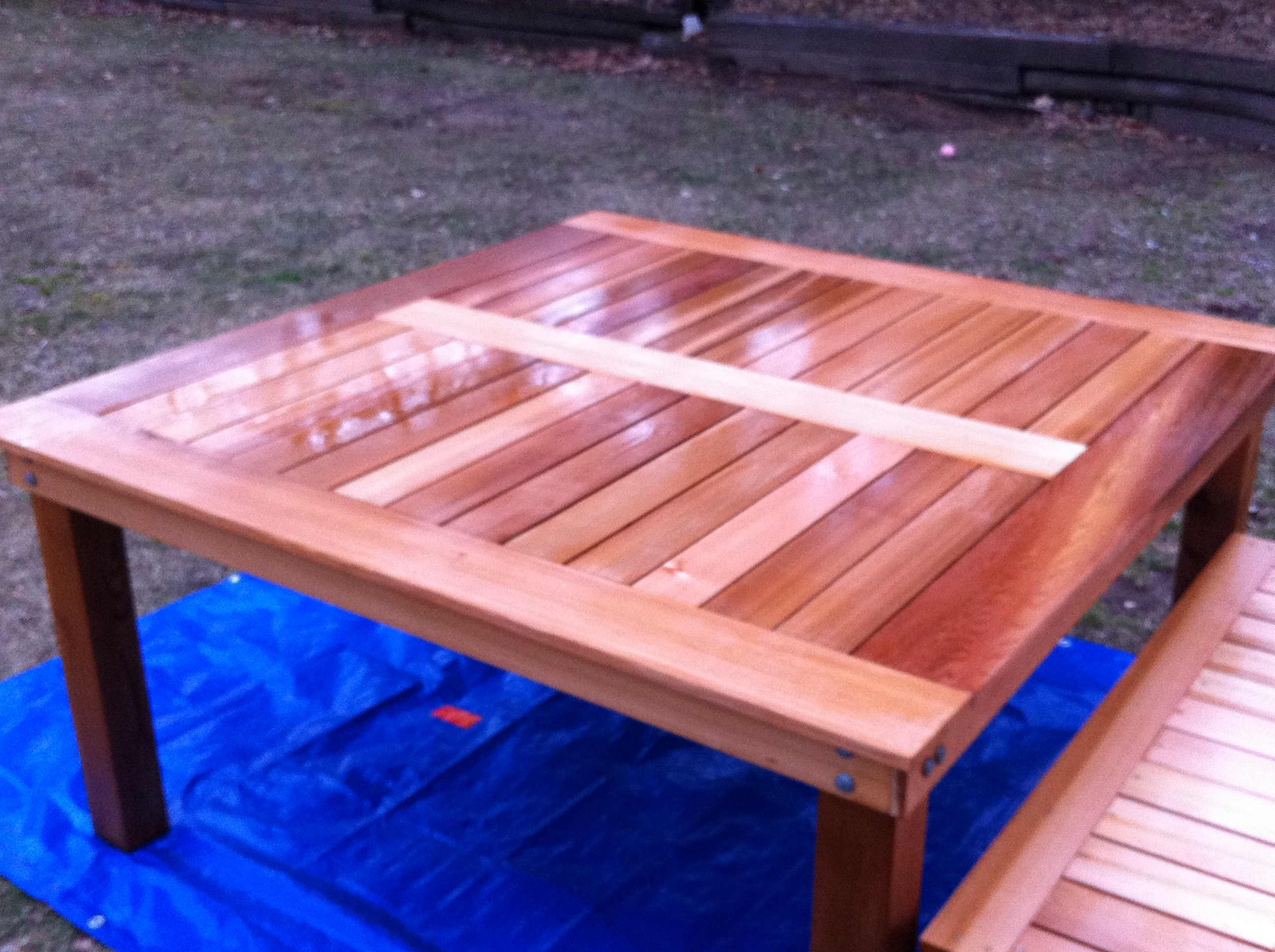 Building Outdoor Furniture With Cedar