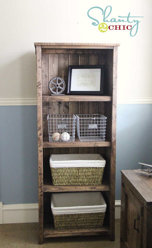 build your own bookcase plans