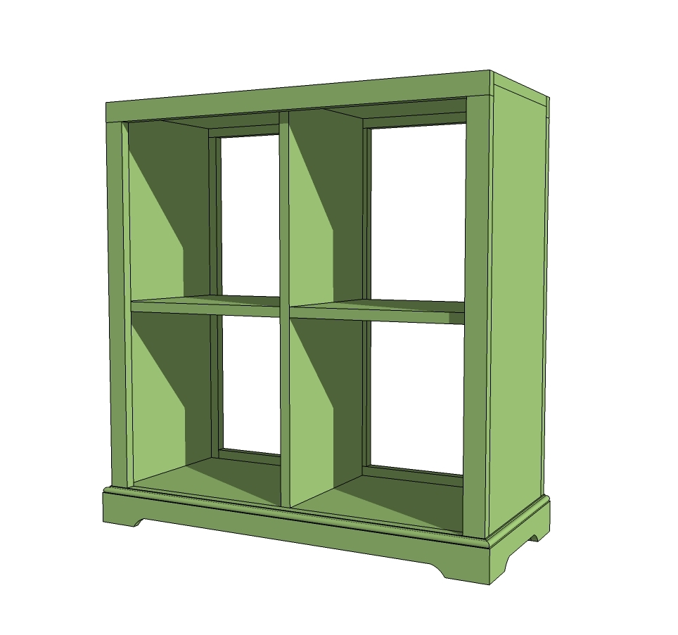 bookshelf nightstand plans