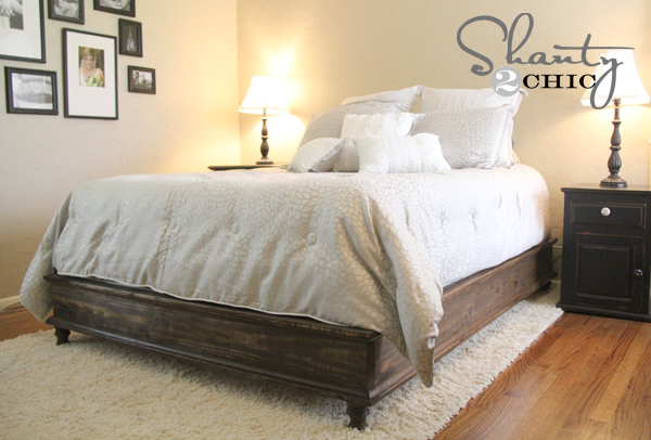 Ana White | Build a Chestwick Platform Bed - Queen Size | Free and ...