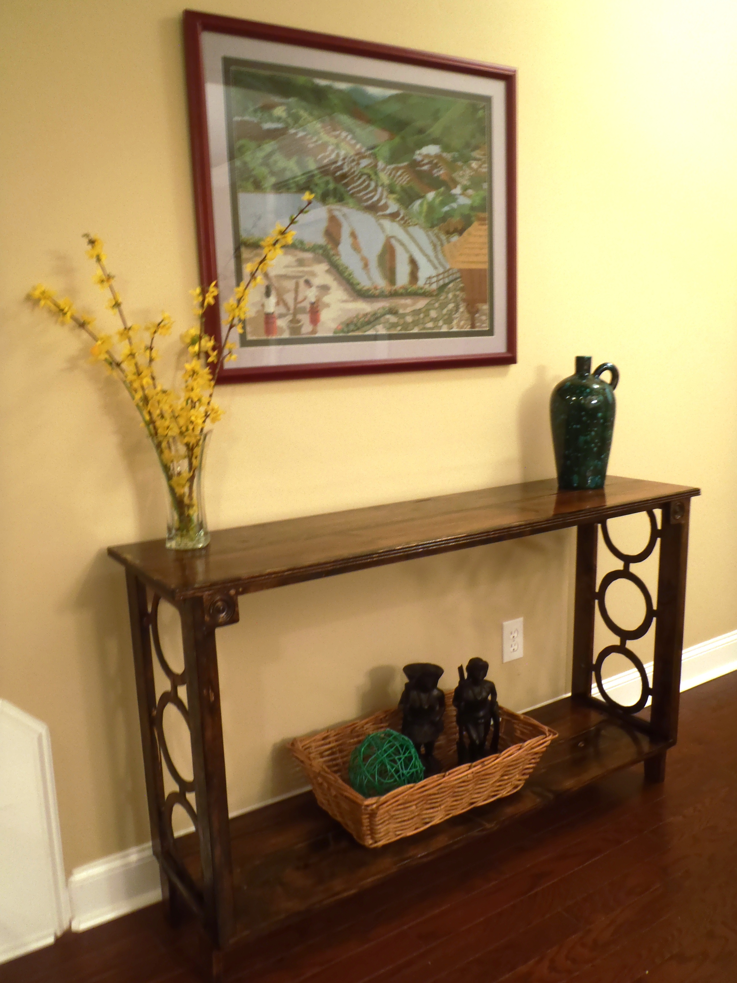 Picture of: Narrow Console Table Ana White