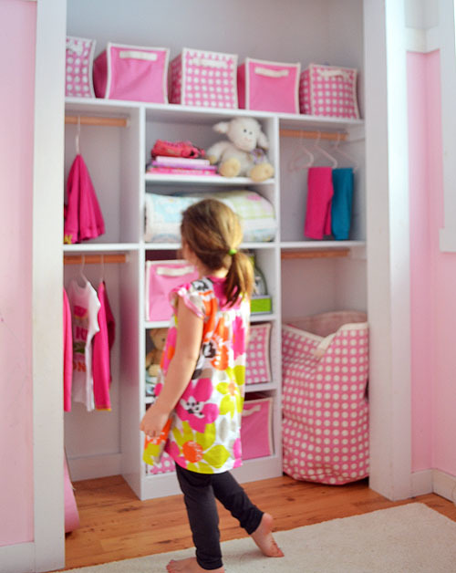 Ana White   Just My Size Closet - DIY Projects