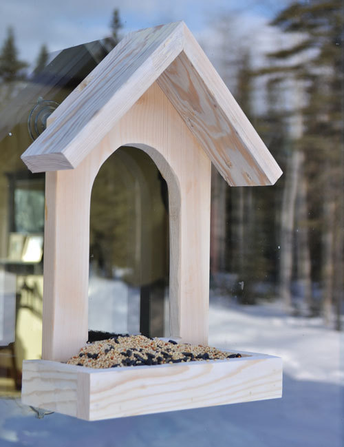 How To Make A Easy Wooden Bird Feeder