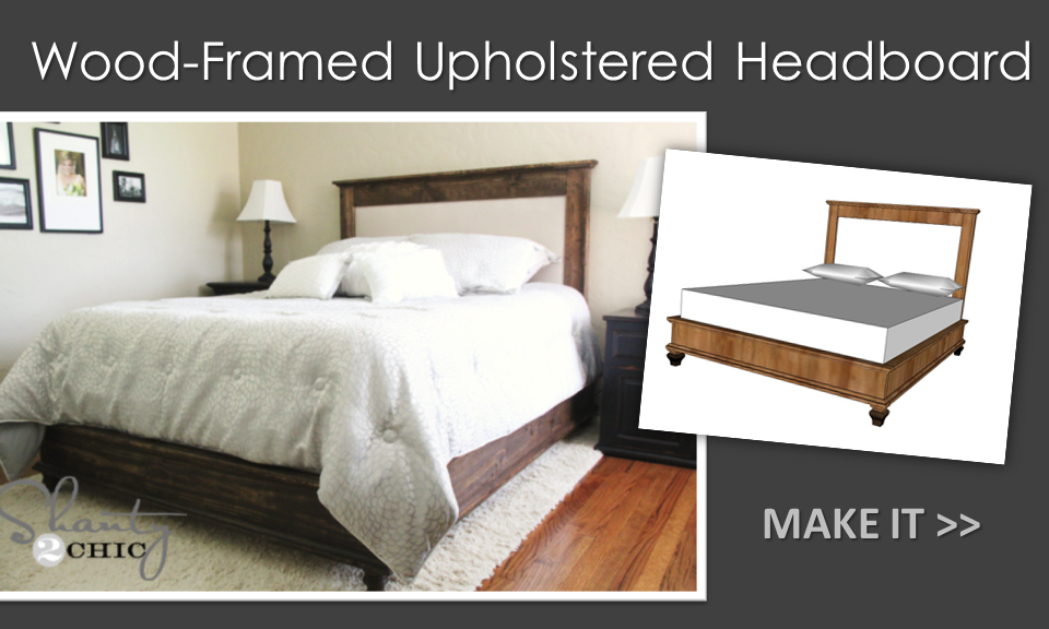 ... Upholstered Headboard- Queen | Free and Easy DIY Project and Furniture