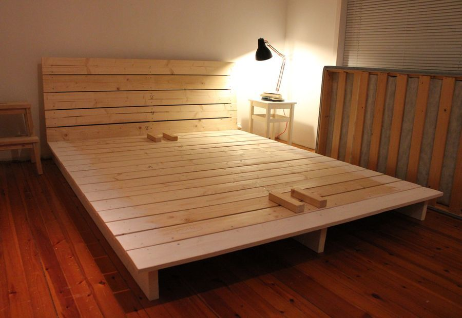 how to build a twin size platform bed with