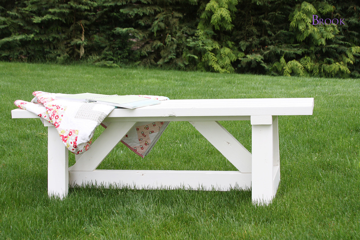 Easy DIY Bench Plans