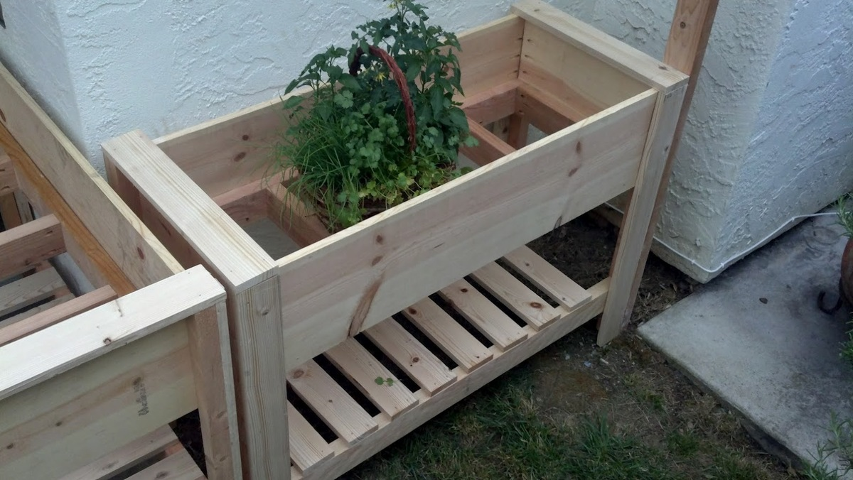 Diy Vegetable Planter Box Plans