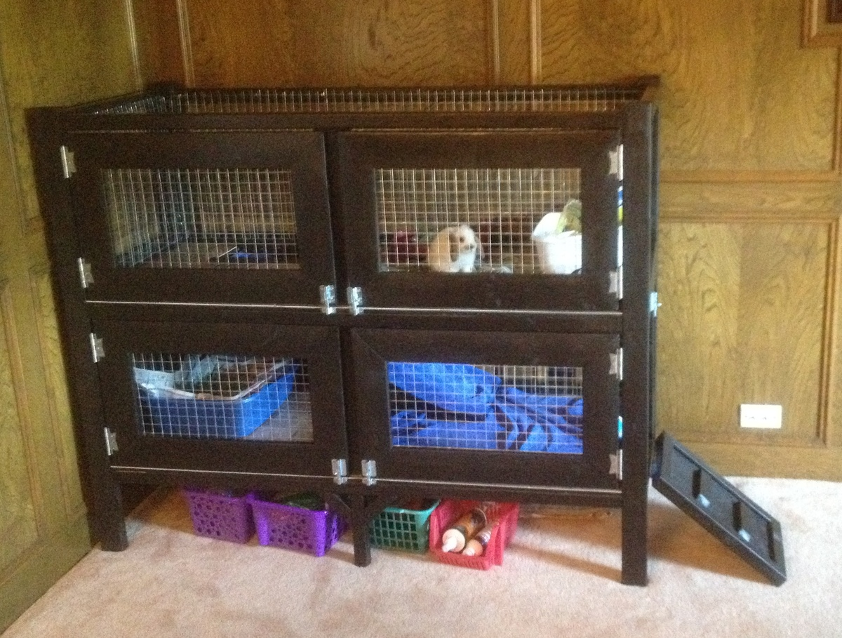 Ana White | Two Story Rabbit Hutch - DIY Projects
