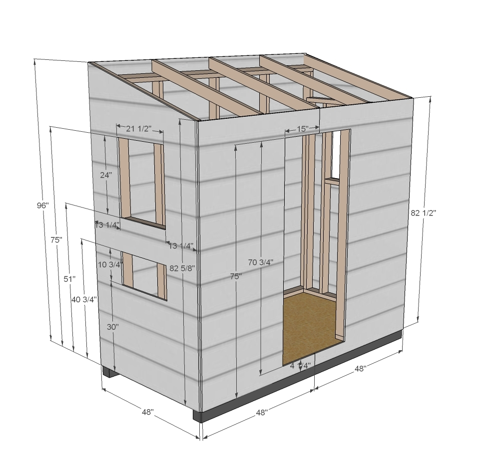 How To Build Attached Shed Plans Pdf Plans