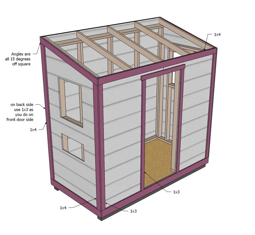 My Easy garden shed designs | Shed plans for free