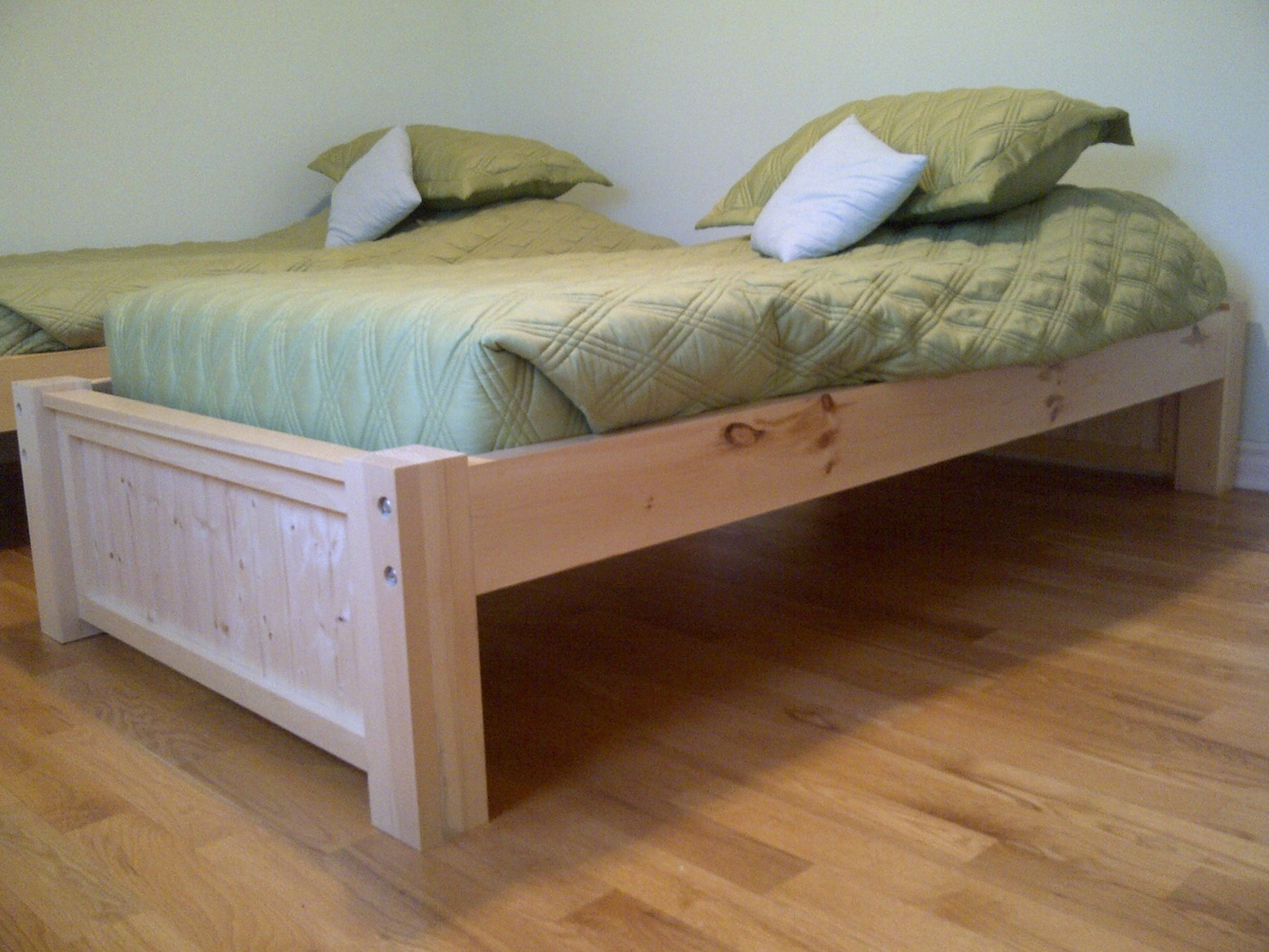 Michael Collection: Twin platform bed | Do It Yourself Home Projects ...