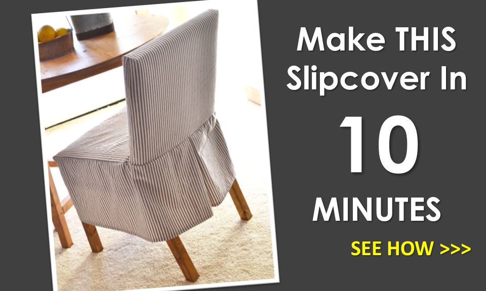 Easiest Parson Chair Slipcovers The Slipcover Pattern
