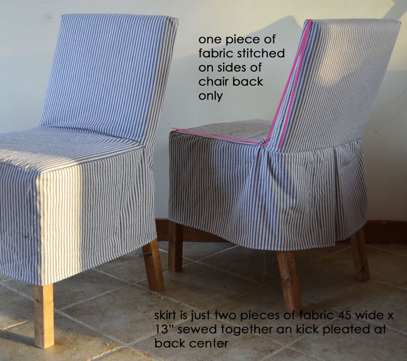 Easiest Parson Chair Slipcovers Ana White, Parson Chair Cover Pattern