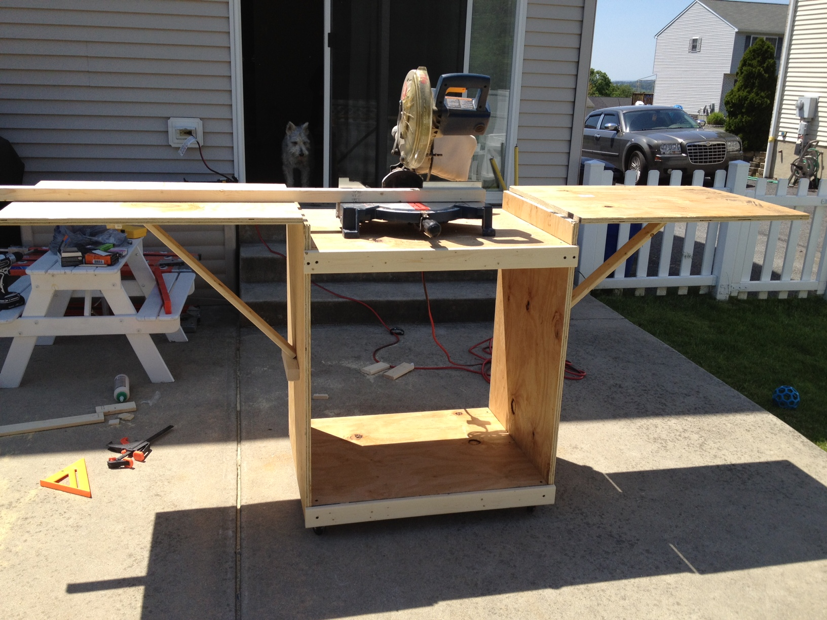 Miter Saw Stand Plans Simple