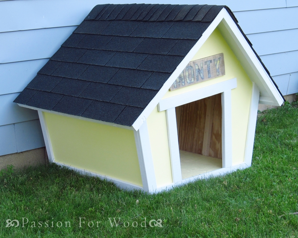 Crooked Doghouse Ana White