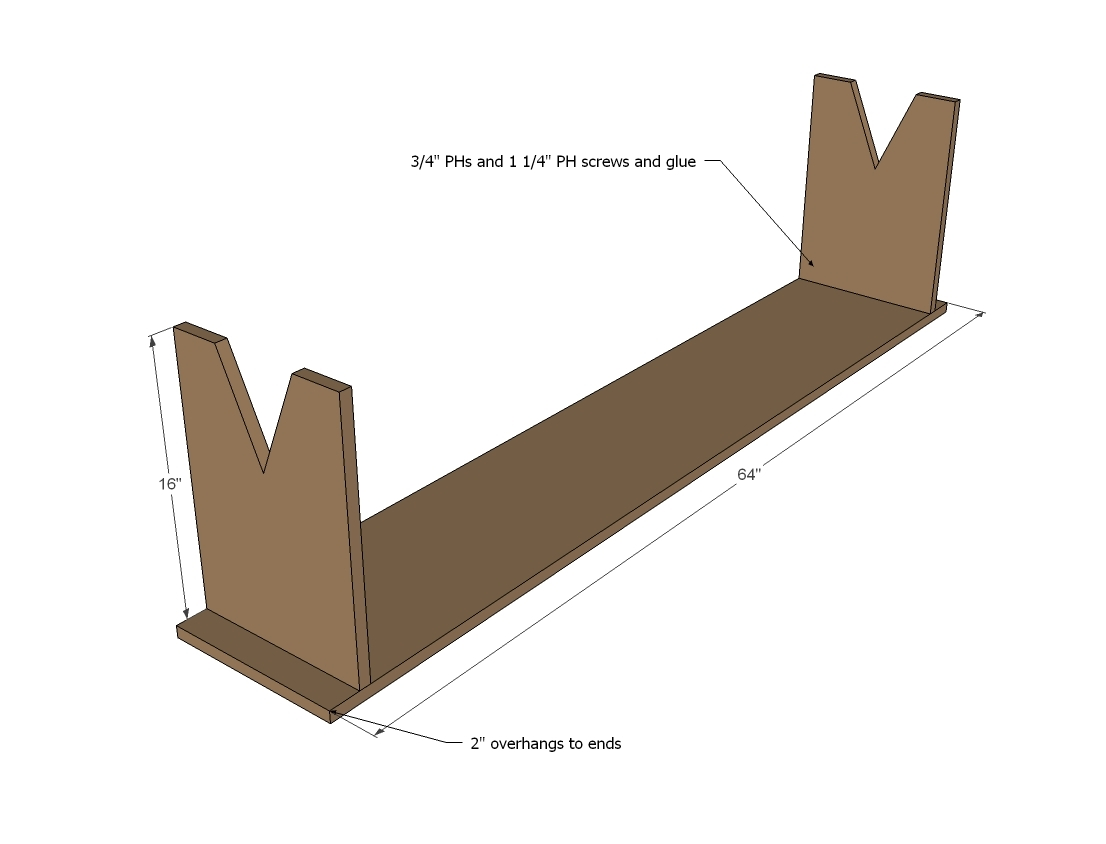 primitive bench plans