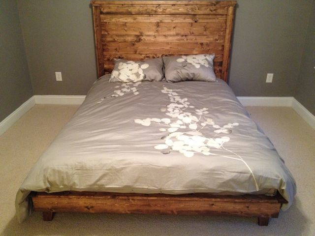 Ana White Hailey Platform Bed Diy Projects