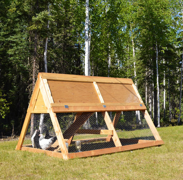 Chicken Coop Plans Free A Frame