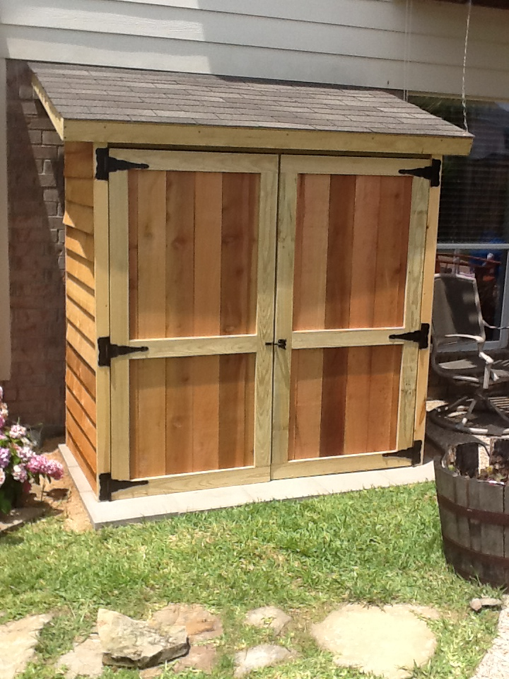 Description diy cedar shed plans haddi - Garden sheds with lean to ...